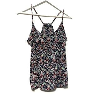 American Eagle floral tank Large